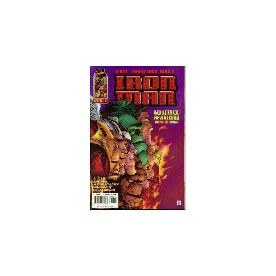 Iron Man #6 Industrial Revolution Books