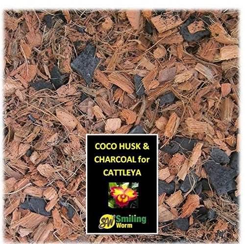 Orchid potting mix, Dracula plant, Cattleya plant, Miltassia, Oncidium, Orchid bark. A mix of washed coco husk chips + charcoal. Freshly blended to order. No pre-packaging. (1 Quart) (Cattleya Orchid Mix compare prices)