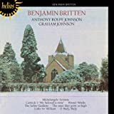 Britten: Seven Sonets of Michelangelo; Winter Words, Four Folksong Settings