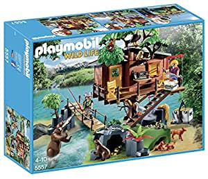 Playmobil casa del rbol de aventuras 55570 for Casa del arbol playmobil carrefour