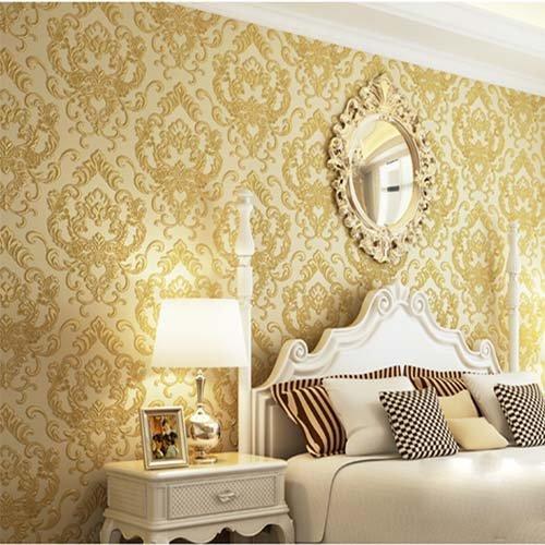 qihang-high-grade-european-non-woven-wallpaper-embossed-3d-damascus-wall-paper-roll-goldyellow-color