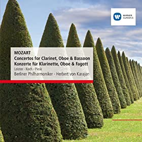 Mozart: Concertos for Clarinet, Oboe & Bassoon - Konzerte f�r Klarinette, Oboe & Fagott
