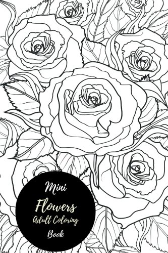 mini-flowers-adult-coloring-book-travel-to-go-small-portable-stress-relieving-relaxing-coloring-book