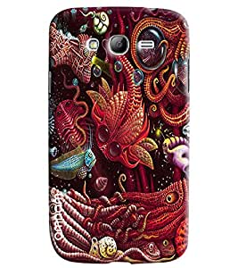 Omnam Under Sea Animal Worlds Printed Designer Back Cover Case For Samsung Galaxy Grand