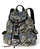 Victorias Secret Pink Bling Silver Gold Flip Sequin Backpack