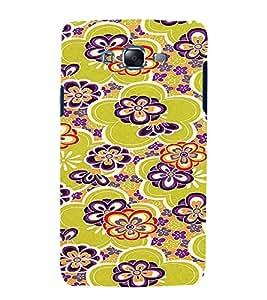 PrintVisa Flower Pattern 3D Hard Polycarbonate Designer Back Case Cover for Samsung Galaxy J7