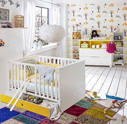 Babyzimmer Set »RISONU166« alpinweiß, gelb kaufen