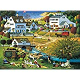 Buffalo Games Charles Wysocki:  The Hound of the Baskervilles - 1000 Piece Jigsaw Puzzle by Buffalo Games