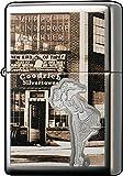 Zippo Vintage Windy Girl Windproof Pocket Lighter - High Polished Chrome