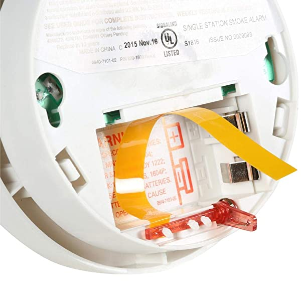 Kidde   Model i9040 Battery-Operated Ionization Sensor Compact Smoke Detector Alarm (Color: Special Edition)