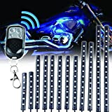 MOTOSTAR バイク汎用 LEDキット RGBストリップライト 15色パターン 12本セット オートバイ 防水LED テープライト 5050 SMDLEDタイプ 【1年保証】 (¥ 7,890)