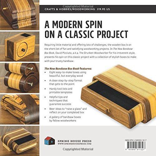 The New Bandsaw Box Book: Techniques & Patterns for the Modern Woodworker Arts Entertainment ...