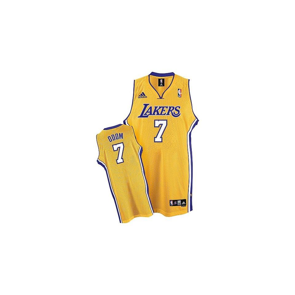 77949cdbe93 Adidas Los Angeles Lakers Lamar Odom Swingman Home Jersey on PopScreen