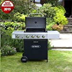 Outback Meteor Hooded Barbecue 4 Burn...