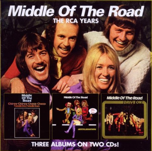 Middle Of The Road Chirpy Chirpy Cheep Cheep / Acceleration / Drive on cd cover