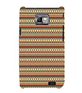 Manipuri Art Pattern 3D Hard Polycarbonate Designer Back Case Cover for Samsung Galaxy S2 :: Samsung Galaxy S2 i9100