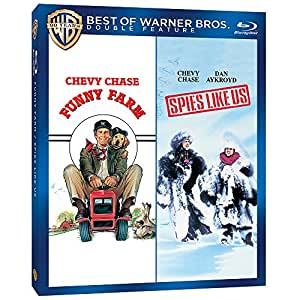 Funny Farm & Spies Like Us [Blu-ray] (Bilingual) [Import]