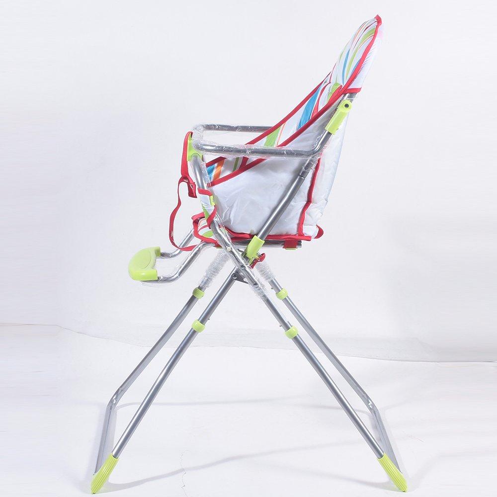 Luvlap Baby High Chair 8113 (Sunshine) -Green