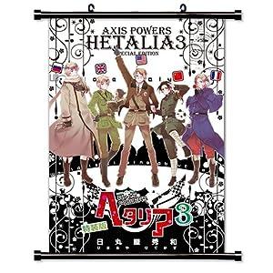 "Amazon.com: Hetalia Axis Powers Anime Fabric Wall Scroll Poster (16"" x"