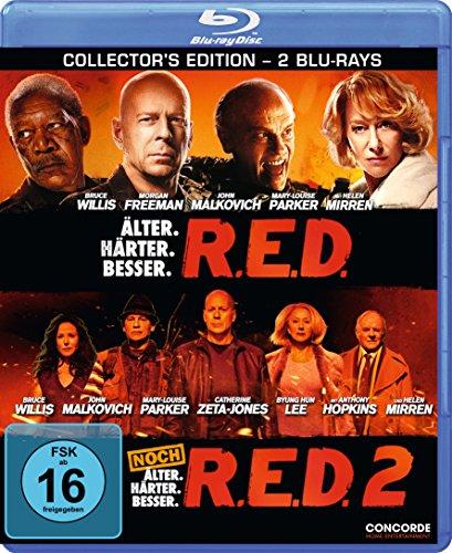 R.E.D. - Älter. Härter. Besser/R.E.D. 2 [Blu-ray] [Collector's Edition]