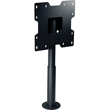 Peerless HP432-002 Black flat panel desk mount - flat panel desk mounts (Black)
