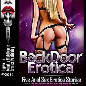 Backdoor Erotica: Five Anal Sex Erotica Stories Audiobook