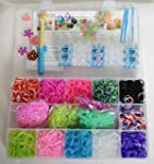 3800 Rainbow 11 Colored Loom Bands Ki...