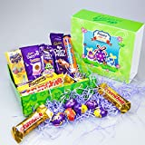 Cadbury Chocolate Easter Special Gift Box - By Moreton Gifts - Mini Eggs, Crème Egg, Buttons, Crunchie, Fudge, Caramel, Dairy Milk and Freddo Sprinkles