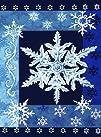 Toland Home Garden Cool Snowflakes Garden Flag 112532