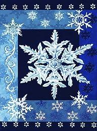 Toland Home Garden Cool Snowflakes 12…