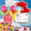 hochzeitsballons mit karte