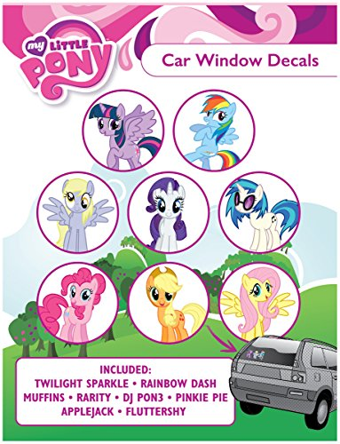 My Little Pony ST MLPFAM PACK1 Car Window Sticker Decal Family Pack (Ice Be Gone Magic compare prices)