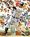 Eric Hinske Signed Autographed Toronto Blue Jays 8x10 Photo Inscribed 02 AL ROY TRISTAR COA