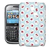 Shabby Chic Florals on Blue Phone Hard Shell Case for Samsung Galaxy S3 S4 S5 Mini Ace Nexus Note & more - Samsung Ch@t 335