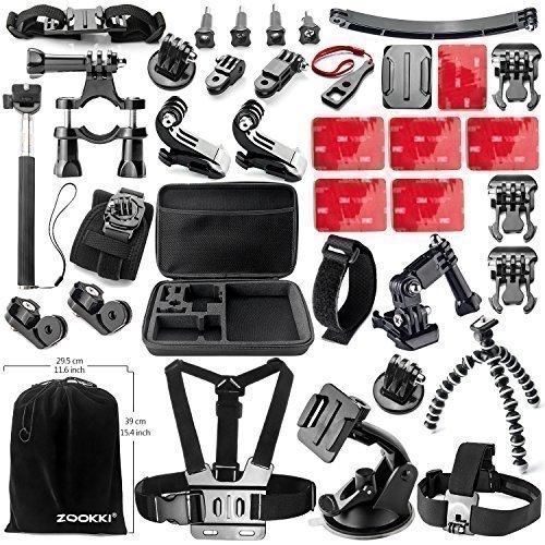 Esto no te lo puedes perder: Kit de accesorios para GoPro Hero de Zookki