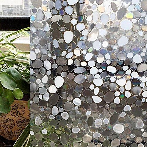 CottonColors(コットンカラーズ) 3D窓用フィルム 浴室目隠しシ...