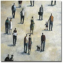 Paseo by Didier Lourenco Premium Gallery-Wrapped Canvas Giclee Art (Ready-to-Hang)