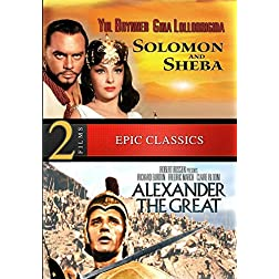 Epic Classics Double Feature: Alexander the Great / Solomon and Sheba - Digitally Remastered