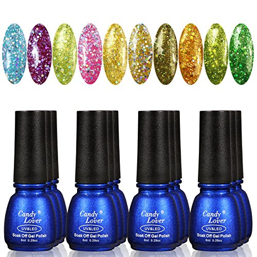 Candy-Lover-Nail-Polish-12pcs-Starter-Kit-10-Color-Polish-UV-Base-Coat-UV-Top-Coat