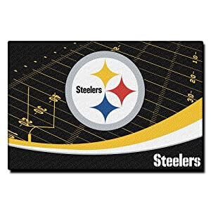NFL Pittsburgh Steelers Extra Point Tufted Rug at SteelerMania