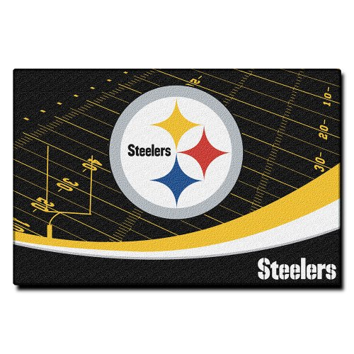 Pittsburgh Steelers 40 x 60 Rug at Steeler Mania