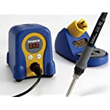 Hakko FX888D29BY/P ESD-Safe Digital Soldering Station w/ FX8801 Soldering Iron and T18D16 Tip (Gold) (Color: Blue)