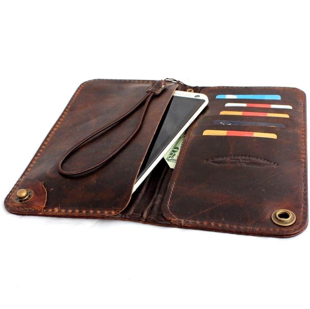 genuine leather case for iphone 6 plus 7 plus book wallet. Black Bedroom Furniture Sets. Home Design Ideas