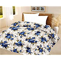 Stylla Shoppers Luxury Blue Quilt A.C Blanket Single Bed Size Dohar