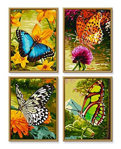 Schipper 609340628 dipingere con i numeri 4 quadri da for Quadri facili da dipingere