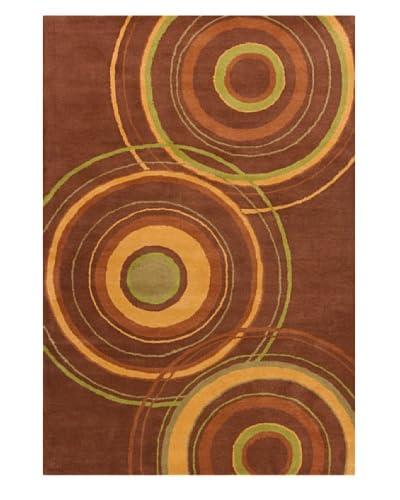 Filament Karey Hand-Tufted Wool Rug, Brown, 5' x 7' 6