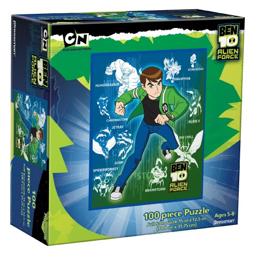 Ben 10 Jigsaw Puzzle (100 Pieces, Style Varies)