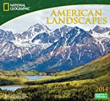 2014 National Geographic American Landscapes Deluxe Wall