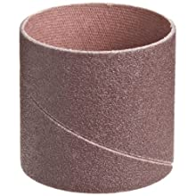 "3M  Cloth Band 341D, 1-1/2"" Diameter x 1-1/2"" Width, P120 Grit, Brown (Pack of 100)"