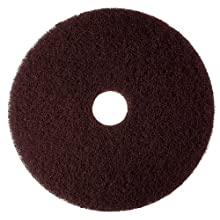 3M 7100 Brown Stripper Pad (Case of 5)